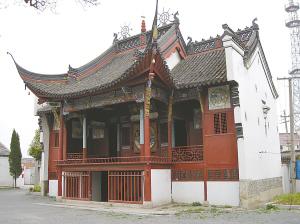 独特民俗留住的古戏台--中国国情