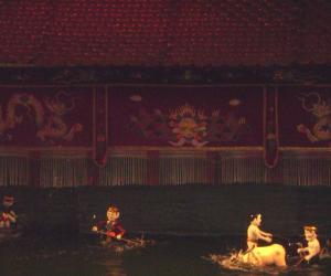 田野与书斋对话之――越南的水上木偶表演--中国国情网