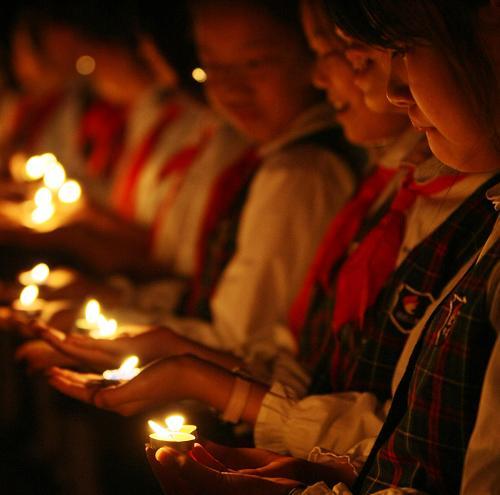 携手祈福 珍爱和平--中国国情网