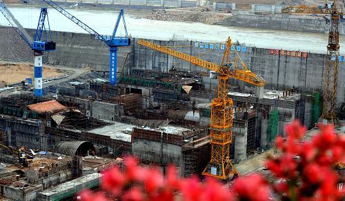 峡江水利枢纽工程建设进展顺利--中国国情网